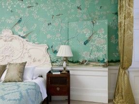 Perdele si tapet De Gournay – Kimberley Hall