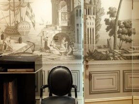 Mobilier De Gournay – Moscow showroon – Views of Italy – Elle Decoration Russia