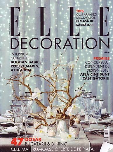Elle Decoration - winter 2013-2014