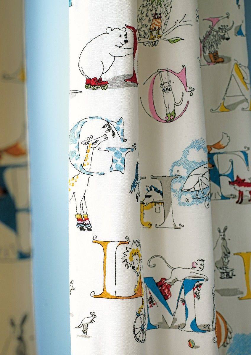 Alphabet Zoo FB Curtain