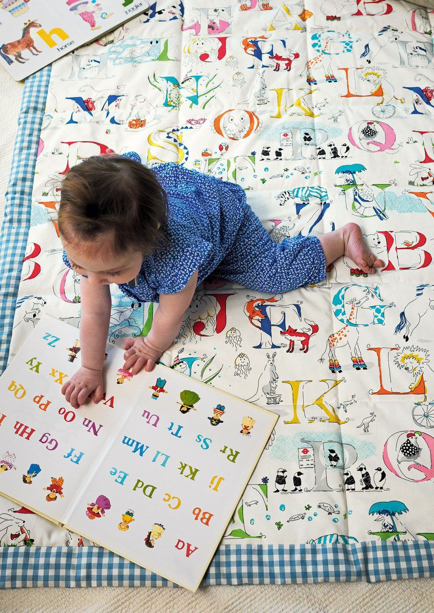 Alphabet Zoo Quilt FB
