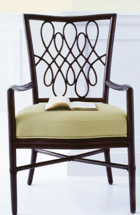Mobilier Barbara Barry – Script Arm Chair