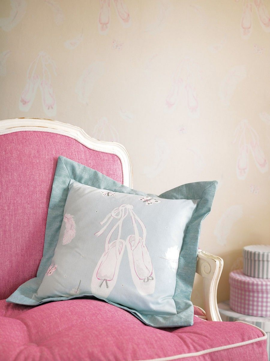 Ballet Shoes Cushion FB
