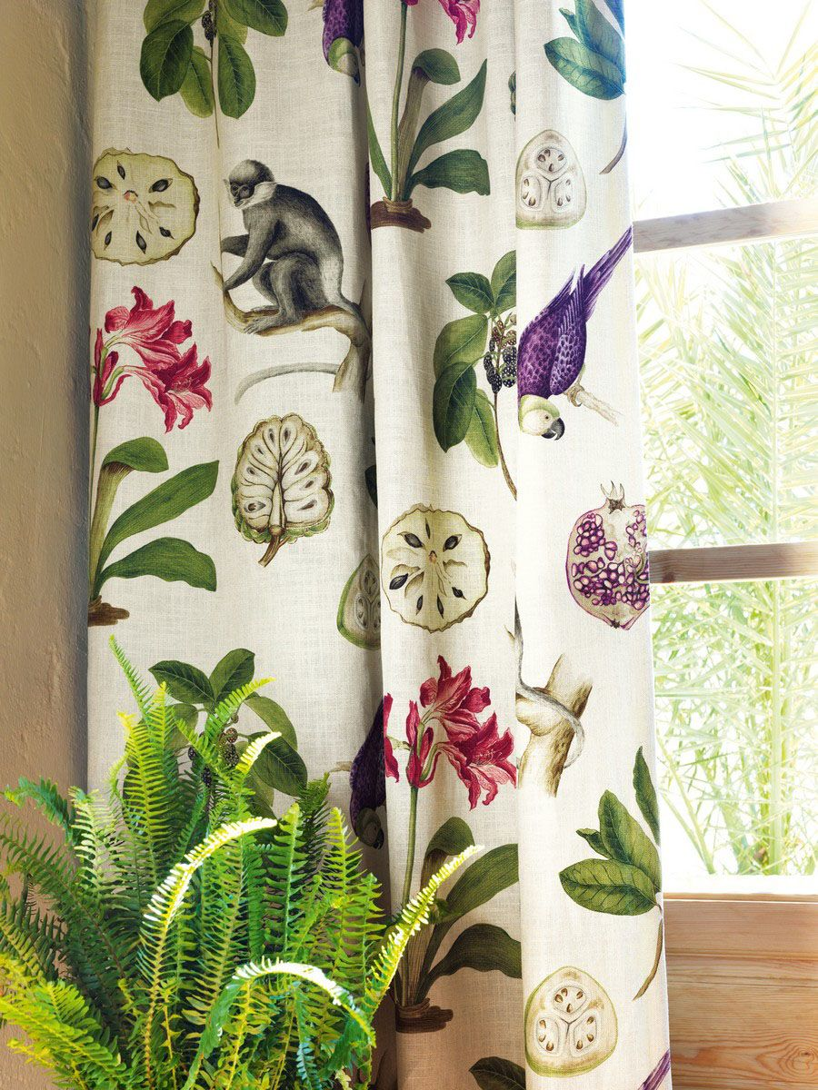 Perdele si tapet Sanderson - Capuchins Fabric Curtain