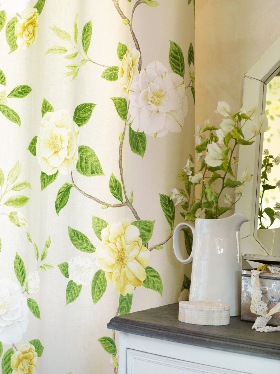 Perdele si tapet Sanderson - Christabel Fabric Curtain