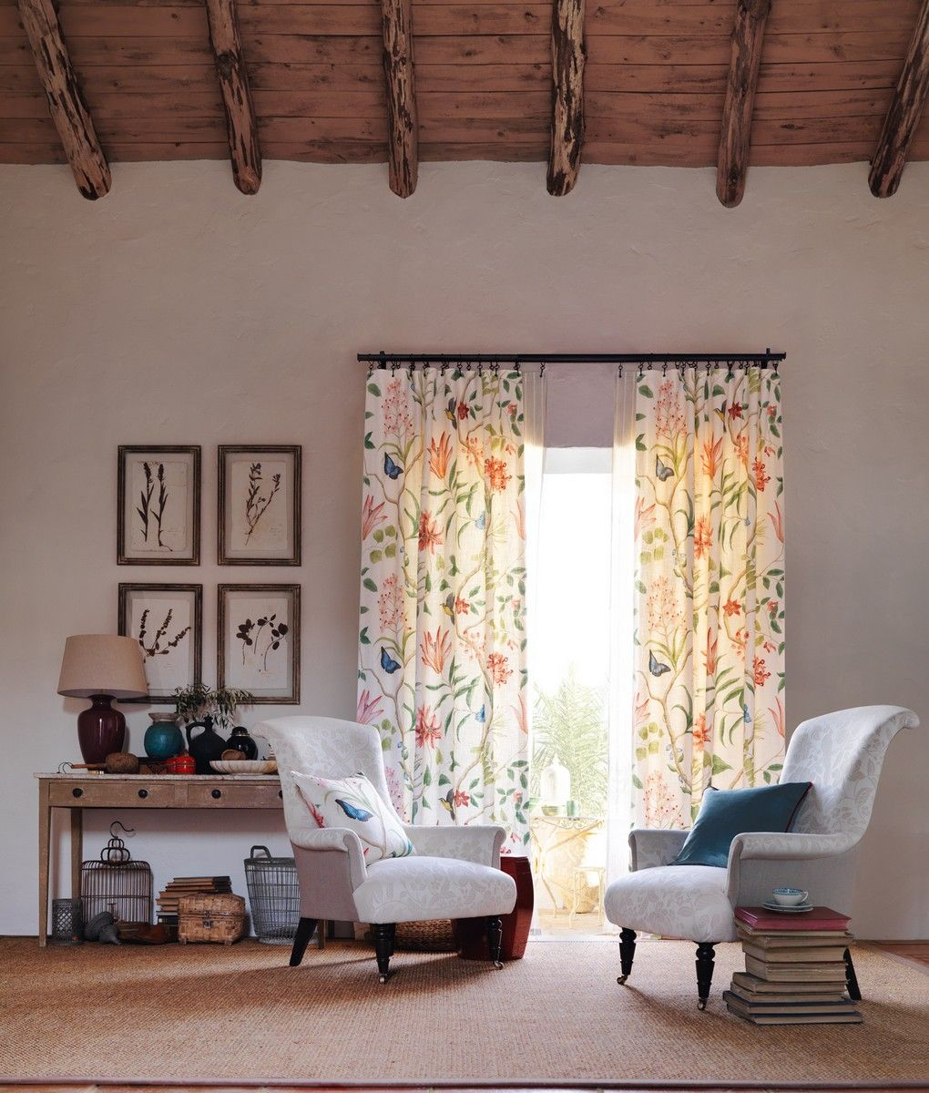 Perdele si tapet Sanderson - Clementine Fabric