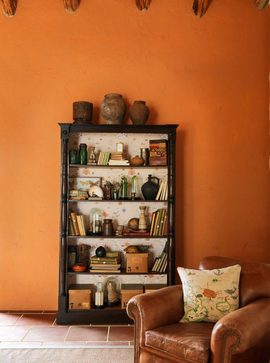 Perdele si tapet Sanderson - Galapagos WP Bookcase