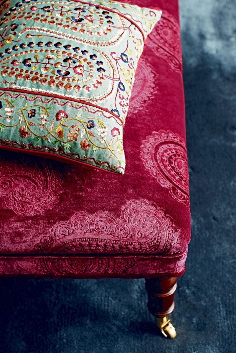 Perdele si tapet Zoffany - Kalamkari FB Cushion