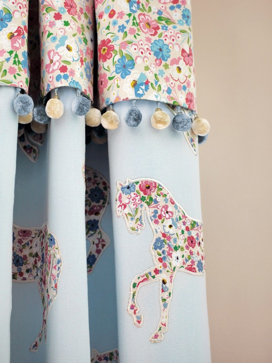 Pretty Ponies FB Curtain