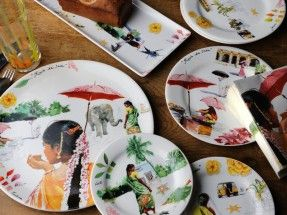 Gien kitchen accessories – RI assiettes