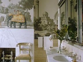De Gournay Curtains and Wallpaper – Simon Upton