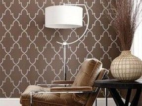 Thibaut curtains and wallpaper
