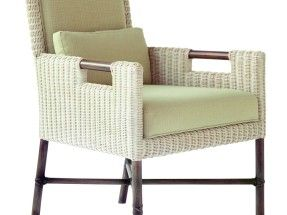 Mobilier Thomas Pheasant – Woven Core Dining Arm Chair