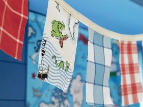 Treasure Map FB Bunting