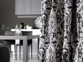 Elitis curtains and wallpaper