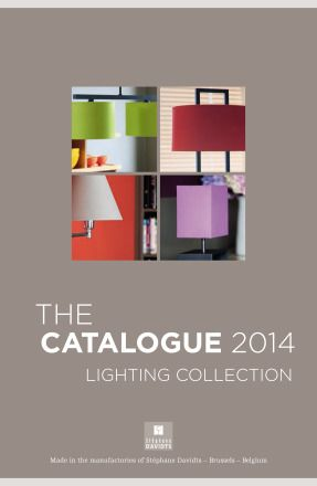 Catalog Davidts: Lighting collection 2014