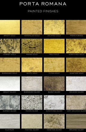 Catalog Porta Romana: Painted Finishes