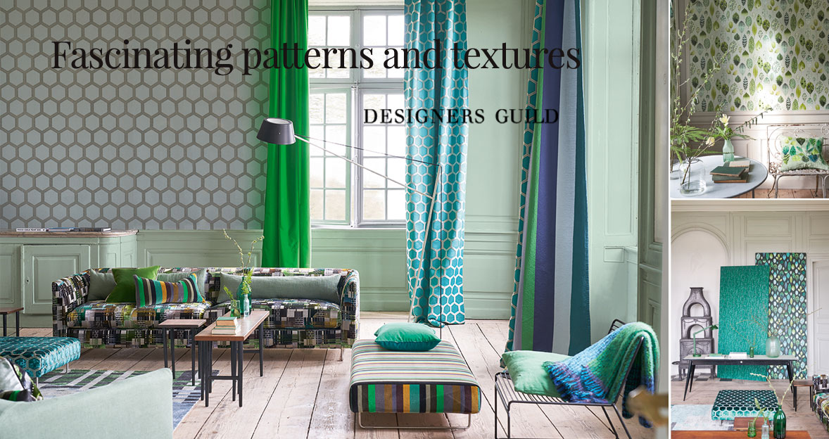 Designers Guild - Fascinating patterns and textures