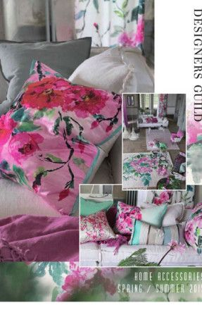 Designers Guild Catalogue: Home Accessories - Spring / Summer 2015