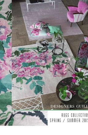 Designers Guild Catalogue: Rugs Collection - Spring / Summer 2015