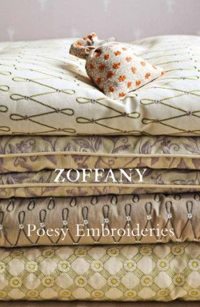 Catalog Zoffany: Poesy Embroideries