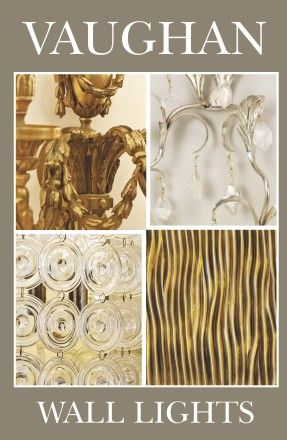 Vaughan Catalog: UK Wall Lights