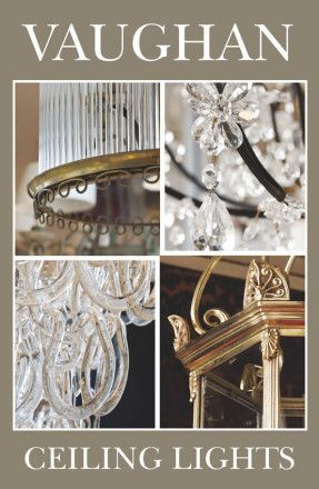 Vaughan Catalog: Ceiling Lights