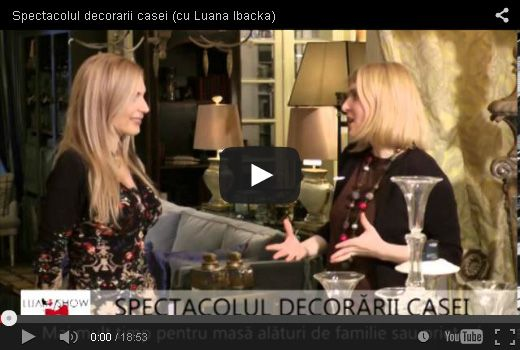Home decorating show (with Luana Ibacka)