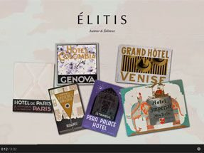 Elitis new collections: Welcome aboard the Elitis Express...