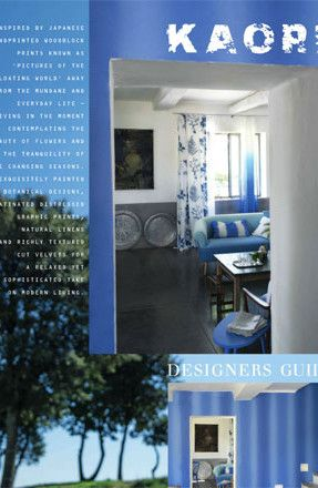 Catalog Designers Guild: Fabric And Wallpaper Brochure