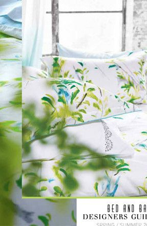 Designers Guild Catalogue: Bed and Bath Spring/Summer 2015