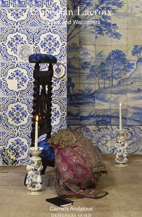 Catalog Designers Guild: Christian Lacroix Fabric & Wallpaper Brochure