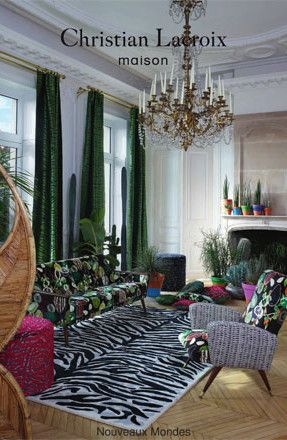 Designers Guild Catalogue: Christian Lacroix Fabric Brochure