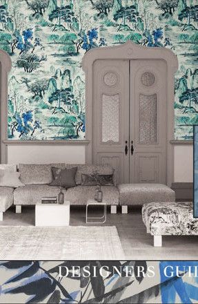 Designers Guild Catalogue: Shanghai Garden Wallcoverings 2015