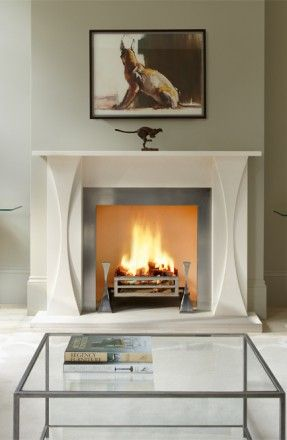 Designer Fireplace Collection-The Faulkner by Tom Faulkner