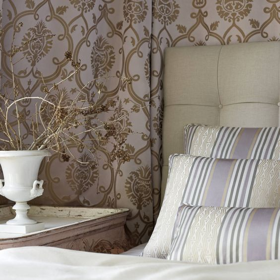 brenton damask from ballad collection thibaut la maison
