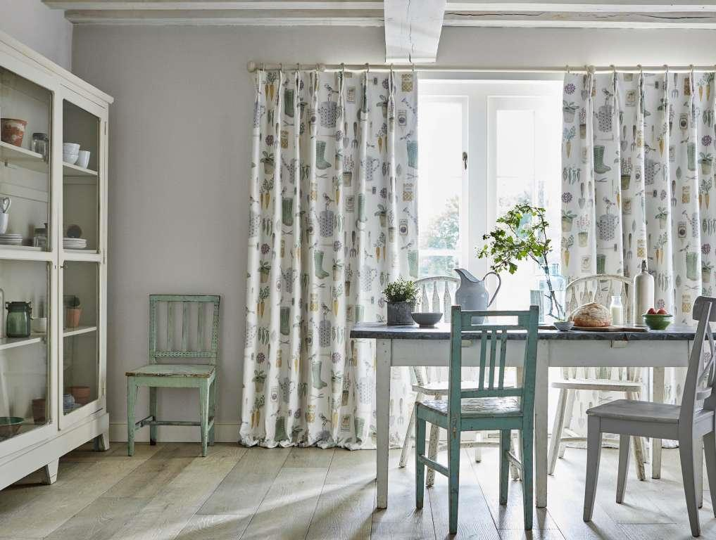 Sanderson Curtains & fabric - The Potting Room Collection