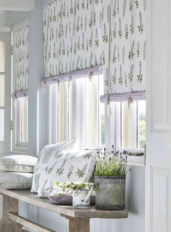 Sanderson Curtains  fabric & wallpaper - The Potting Room Collection