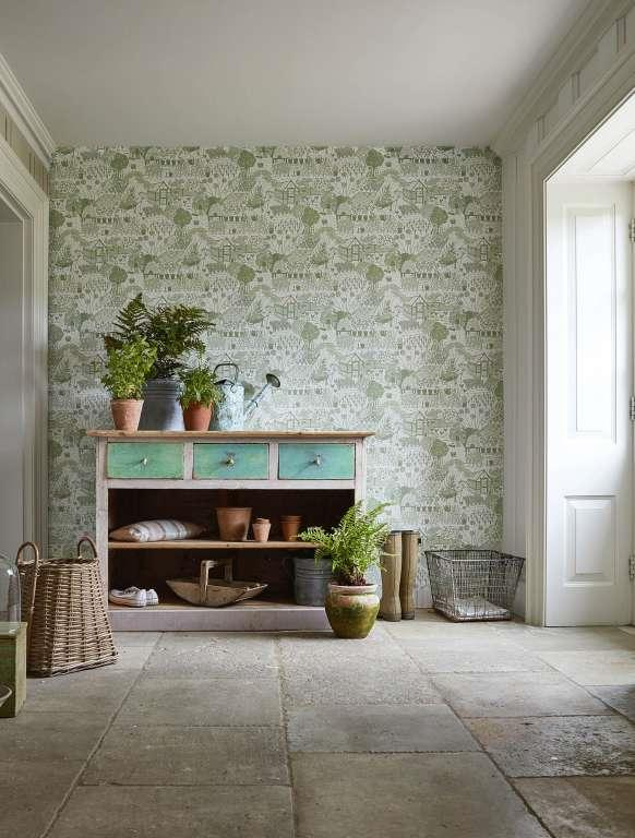 Tapet Sanderson - The Potting Room