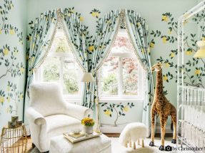 Lemon Grove Wallpaper – de Gournay