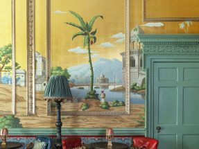 Early Views of India Wallpaper – de Gournay