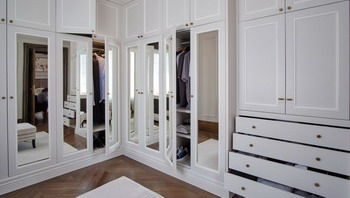 Custom made dressing rooms